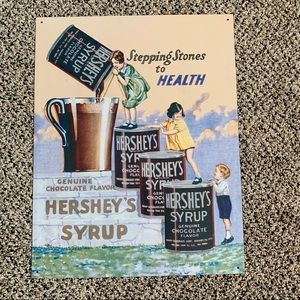 Retro Hershey's Chocolate Sign